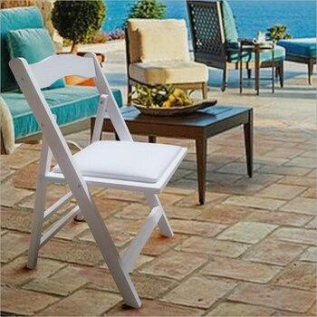 Minimalista moderno Silla de ocio sillas plegables de madera comedor ...