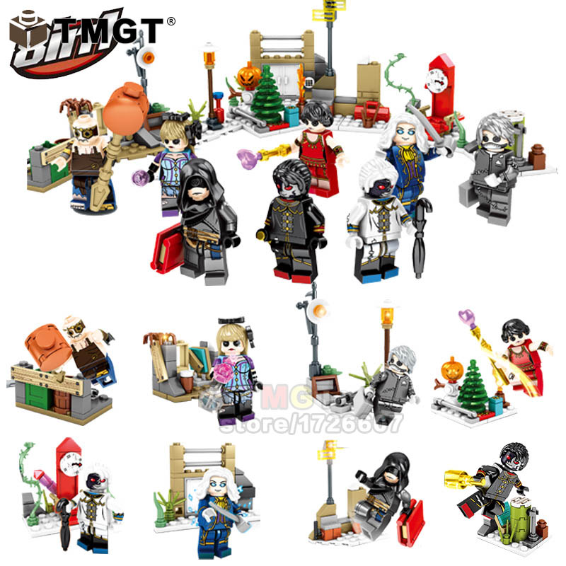 Model Building Toys & Hobbies Impartial 1 Set 8 In 1 Tribal Glory The Nether Figures Super Hero Spiderman Dragon Ball Legoings Building Blocks Toys For Children Smoothing Circulation And Stopping Pains