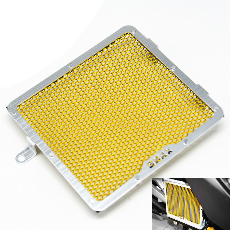 For Yamaha SMAX155 2013-2015 Motorcycle Green Color Stainless Steel RADIATOR GUARD COVER Protector motorcycle arashi radiator grille protective cover grill guard protector for yamaha yzf r1 2004 2005 2006