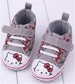 1 Pairs новорожденный обувь для Девочек Марка детская обувь Мальчиков Дети Спорт Обувь Детская Sapatos Новорожденных Prewalker Холст Обувь