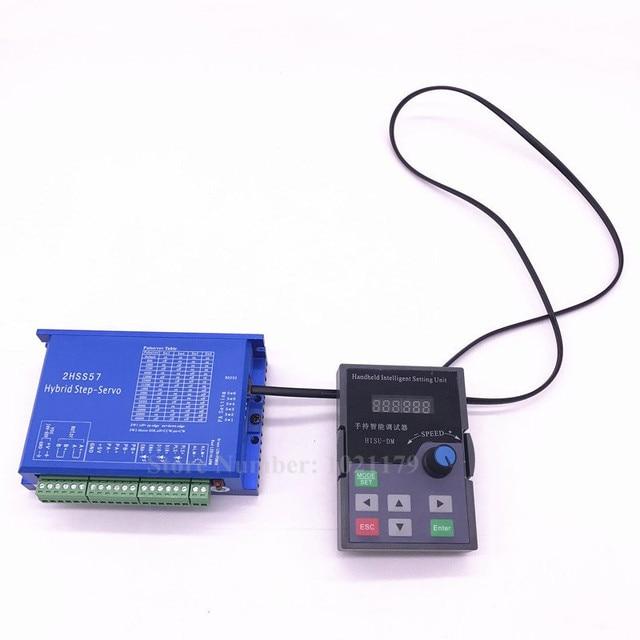 57 86 2HSS57 2HSS86H Closed-loop Motor Driver Handheld Intelligent Setting Unit Nema 23 34 Driver Parameter Subdivision Setting 8