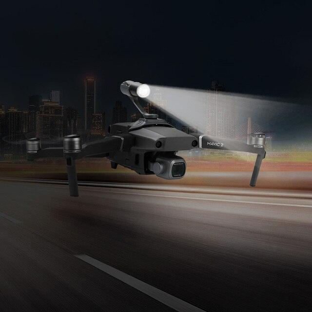 Lumière supérieure du vol de nuit du Drone, étendue pour le montage dune caméra avec héros gopro pour DJI mavic 2 accessoires de drone