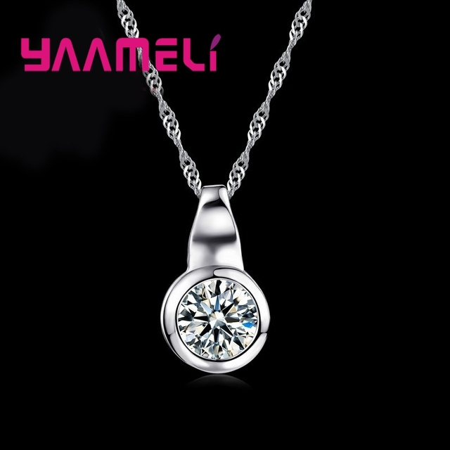 Brand S90 Necklace Natural Minimalism Retro Style AAAAA Hot Sell White Crystal Stone For Women