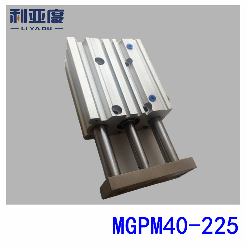 SMC Type MGPM40-225 cylindre mince avec tige MGPM 40-225 trois axes trois barres MGPM40 * 225 composants pneumatiques MGPM40X225SMC Type MGPM40-225 cylindre mince avec tige MGPM 40-225 trois axes trois barres MGPM40 * 225 composants pneumatiques MGPM40X225