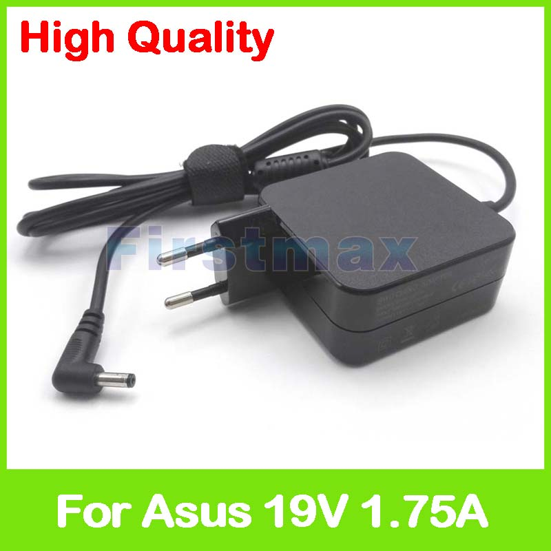 19V 1.75A 33W laptop AC power Adapter charger for Asus VivoBook R417NA R417SA S200E S200L X200 X200CA X200L X200LA EU Plug