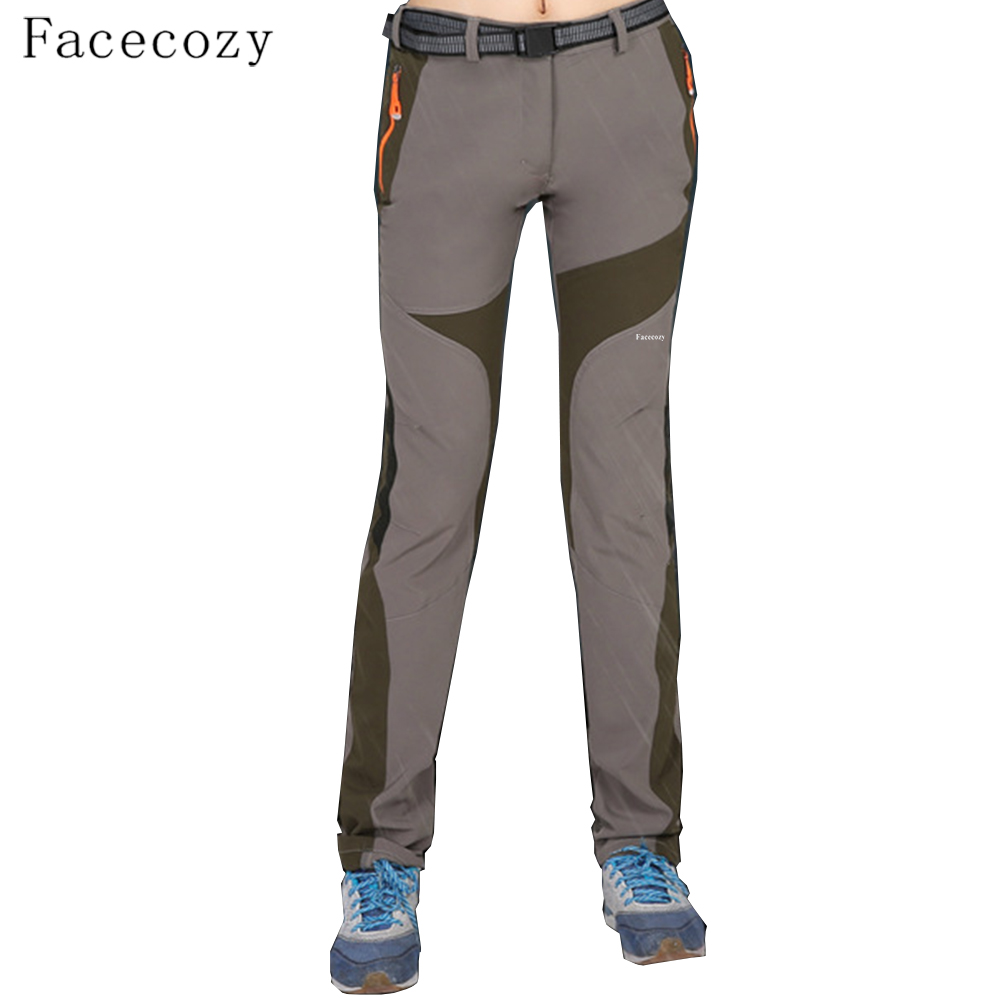 Facecozy women 39 s summer hiking pants waterproof quick dry for Womens fishing shorts