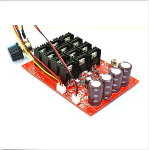 DC 10-50v 12V 24V 48V 3000W 60A Motor Speed fan Control PWM HHO RC Controller - Kubaba's store