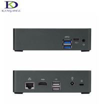 Micro pc-мини-компьютер HTPC Intel Core i7 7500U Intel HD Graphic 620 LAN Тип-C 4 К HDMI ТВ коробка F300