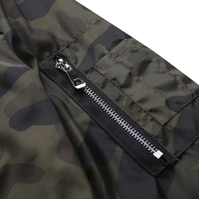 M-7XL 2019 New Autumn Men's Camouflage Jackets Male Coats Camo Bomber Jacket Mens Brand Clothing Outwear Plus Size M-7XL 5
