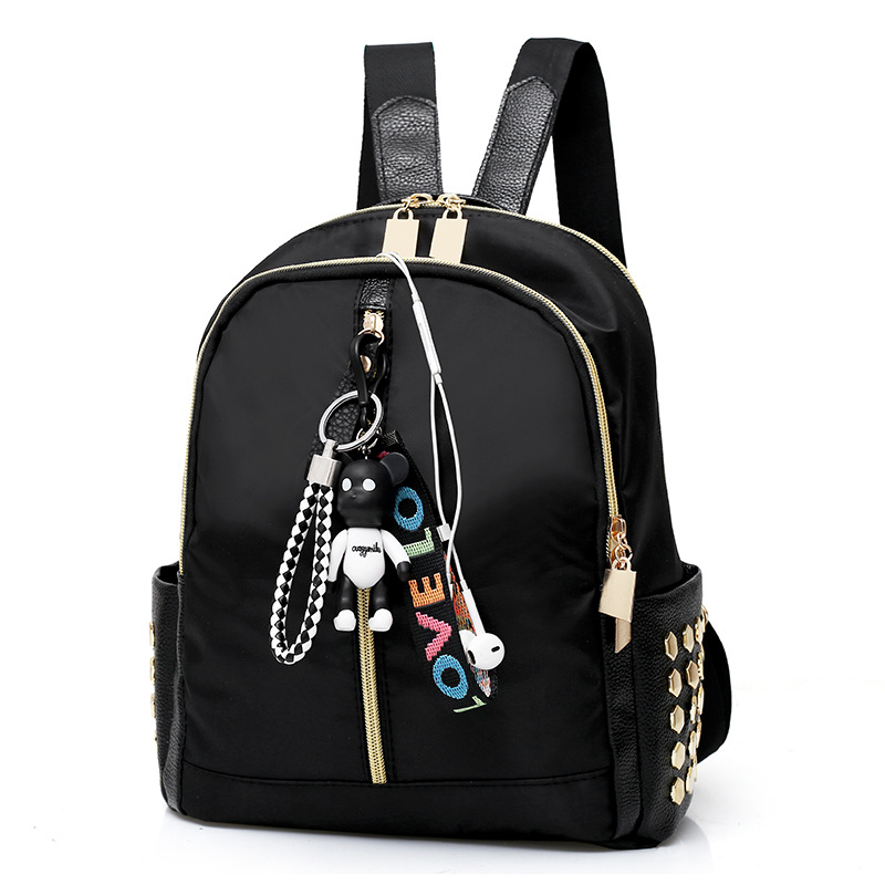 цены 2018 Women Fashion Backpacks High Quality Oxford Rucksack Female School Bags Leisure Style Travel Daily Backpack