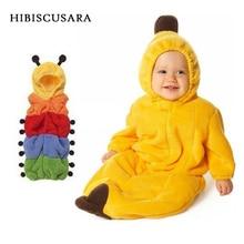 Photo-Clothing-Props Swaddle Sleeping-Bag Infant Yellow Soft Fleece Banana-Shaped Cater