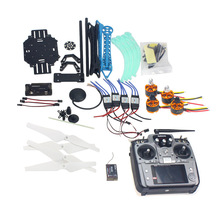 F08151-L RC Drone Quadrocopter Aviones Kit 500mm Multi-Rotor Aire 6 M GPS de Control de Vuelo APM2.8 AT10 transmisor