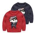 Children's Girl Boy Spring Long Sleeve Cute Cartoon Pullover Sweater Tops Kids Boys Nowara Shinnosuke Pattern Knitwear Clothes