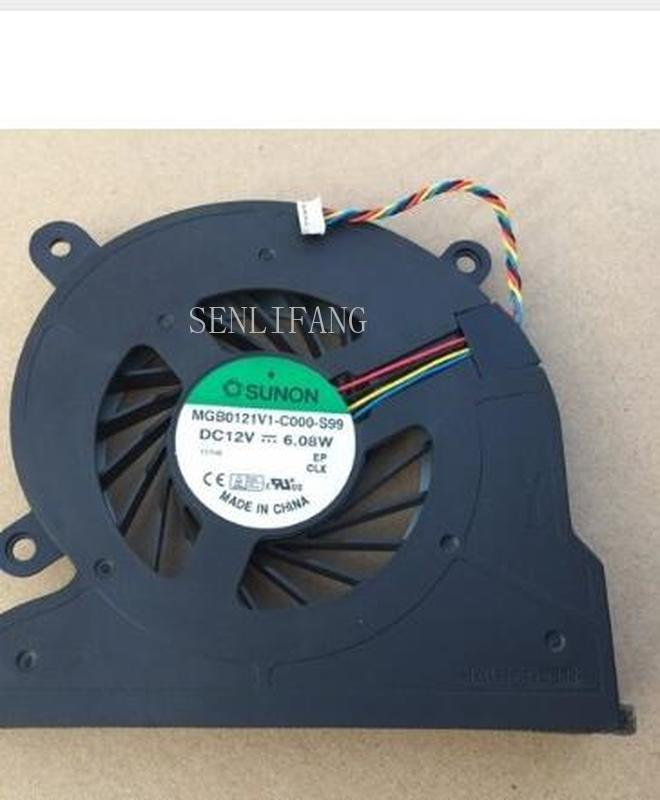 Free Shipping CPU Cooling Fan For Acer Aspire All In One  MGB0121V1-C010-S99 DC 12V 6.08W Server Bare Fancooler 4pin 12V 6.08W