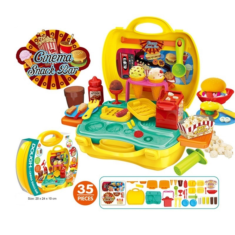 Пластилин притворяться, играть дети игрушки для детей моделирования Полимерная глина с формочками слизь Монтессори Brinquedos Juguetes Oyuncak
