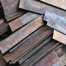 Traitement thermique non traité 6mm T10A acier à haute teneur en carbone usa 1095