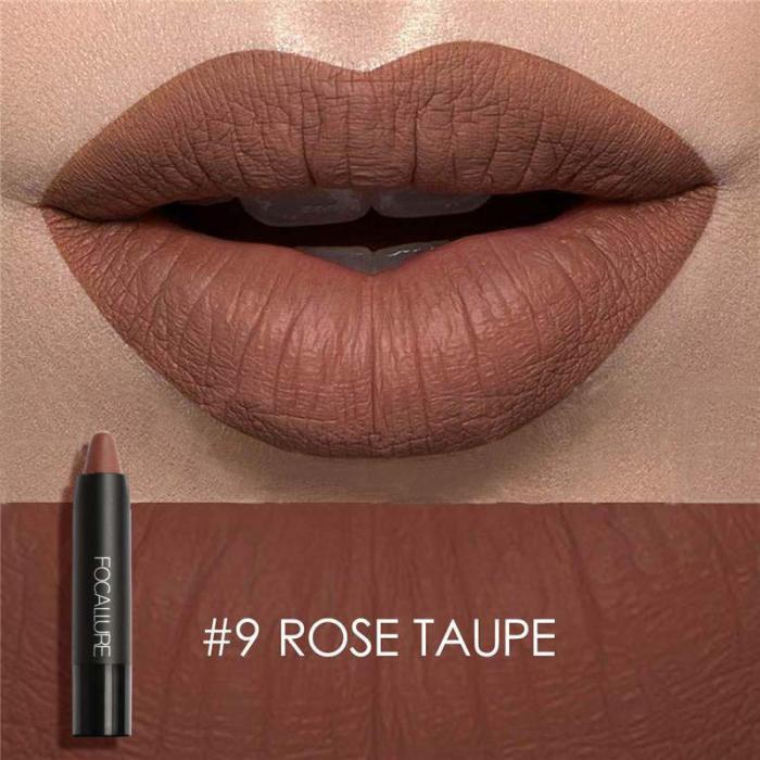 High Quality Focallure Women Matte Lipstick Pen Waterproof Long-lasting Cosmetic Nude Lady Lips Makeup Lipsticks well 16