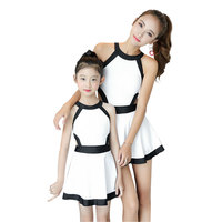 Summer Family Matching Outfits Mother and Girl Swimming Clothing Set One piece Family Holiday Swim Set Mom and Daughter Swimwear