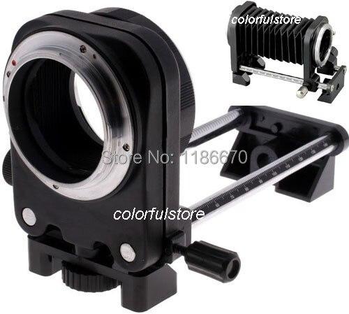 Свободный Корабль Объектива Макрос Фокусировка Скользнул Расширение Фолд Сильфон Для Canon EOS 60Da 60D 50D 40D 30D 20D 10D 20Da D30 D60 Цифровая Камера