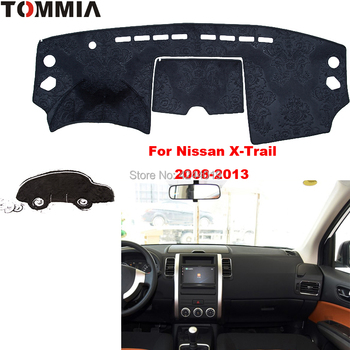 TOMMIA Copertura Cruscotto Dash Zerbino Per Auto Tenda Da Sole ANTI-UV Dash Pad Car Dashboard Zerbino Per Nissan X-Trail 2008-2013