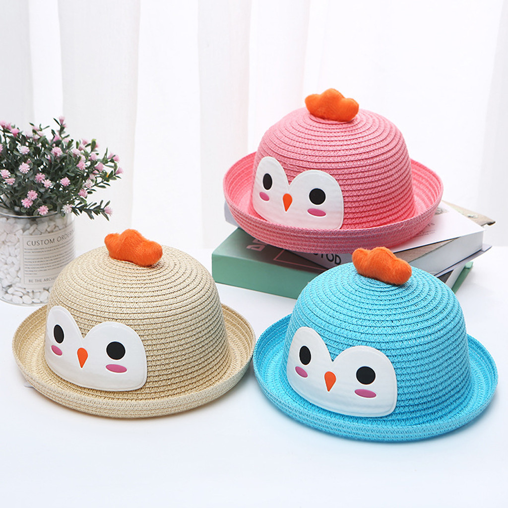 Toddler Cap Butterfly Printed Kids Hat Outdoor Breathable Sun Protection Baseball Cap for 4-6 Years Old Baby Headwear