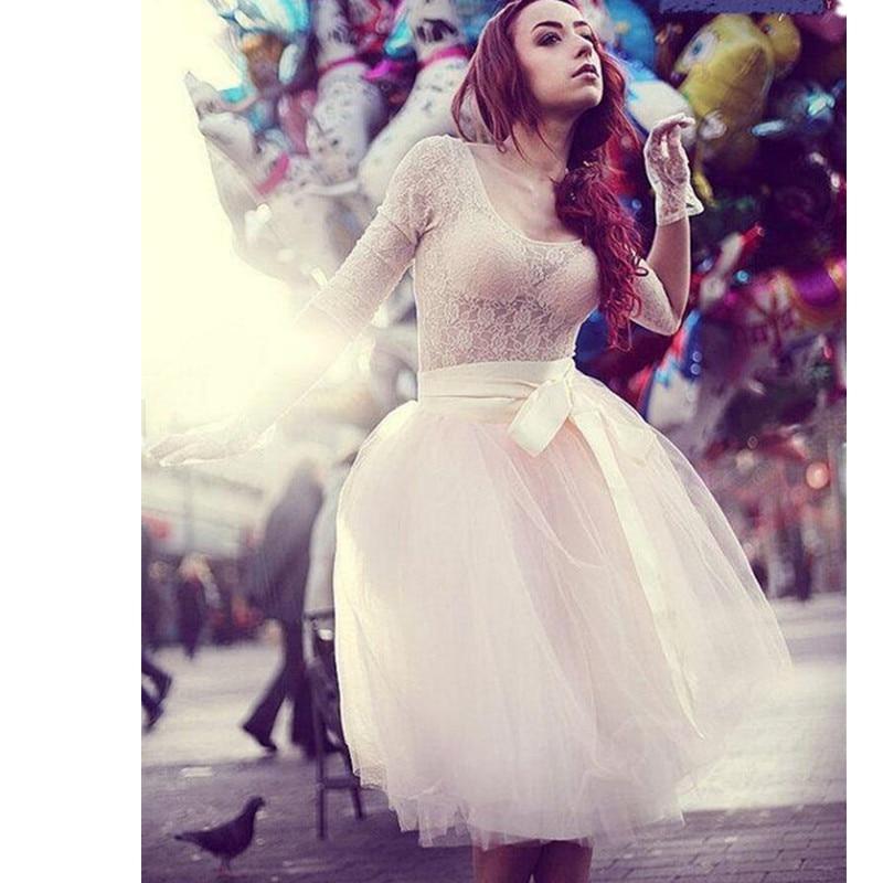 Las Mujeres Nueva Multi Moda Long Opcional Tulle Cintura Simple Faldas Casual Falda De Occidente Chica color Alta qx5IwWnEH4