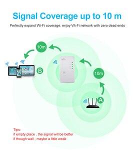 Image 3 - ワイヤレス無線 Lan リピータ無線 Lan レンジエクステンダー 300 150mbps のネットワーク Wi fi のアンプ信号ブースター Repetidor Wifi アクセスポイント
