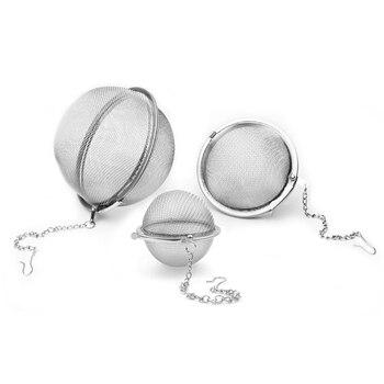 1 шт. сетчатый фильтр для инфузионного чая из нержавеющей стали, сетчатый фильтр для инфузионного чая, кухонные инструменты theezeef