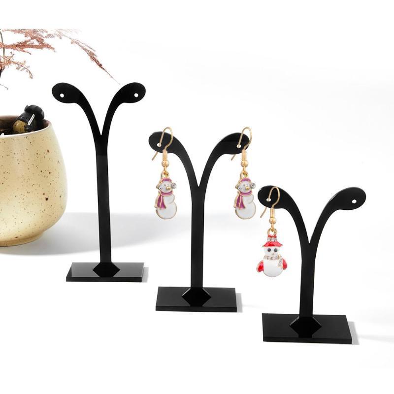все цены на 3pcs/set Earrings Display Shelf Stand Holder Jewelry Organizer Rack Leaf Pattern Stud Earrings Holder Display Stand Jewelry Rack