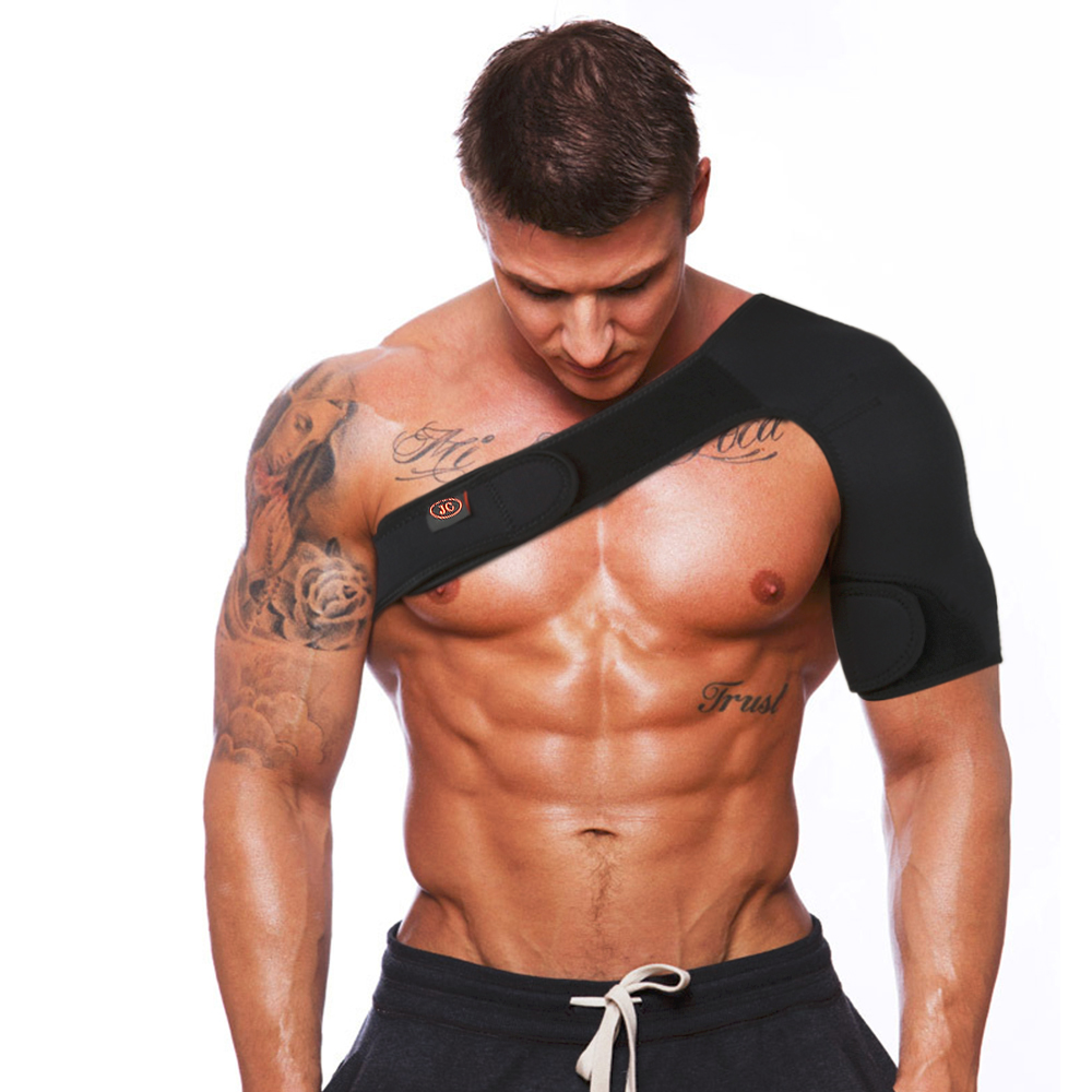 Special Section Men Women Indoor Sports Magnetic Left Right Single Shoulder Brace Support Muscles Strap Wrap Belt Pad Shoulder Care Bandage 2019 Official