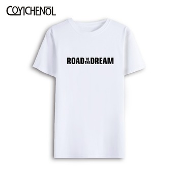 road to the dream love 7xl Oversized customize short sleeves print tshirt men large size modal O-neck casual solid color tee цена 2017