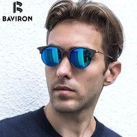 BAVIRON 2017 Designer Wooden Sunglasses Unisex Classic Sun Glasses Metal Hand Making Polarized Sunglasses Popular Eyewear
