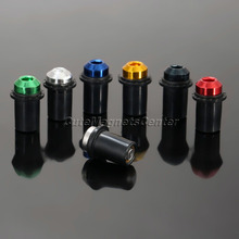 Universal 10Ps Motorcycle 5mm CNC Aluminum Windscreen Windshield Bolts Screw Nut Fastener Kit Motorbike Mounting Nuts Automobile