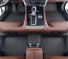 Car Floor Mats For HYUNDAI ix35 2009.2010.2011.2012 High Quality Brand New Foot Carpets Mats Step Mats Embroidery Leather
