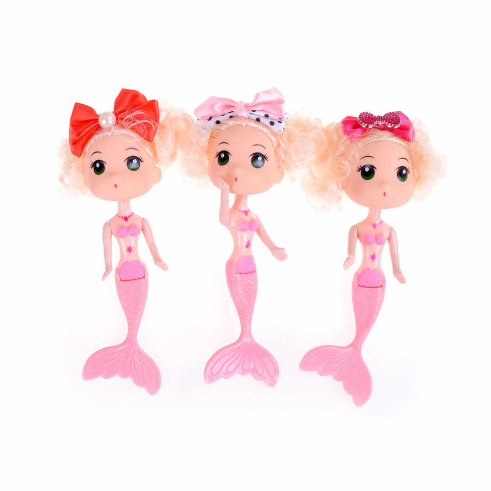 Hot Sale 1PCS 15cm Swimming Mermaid Dolls Doll Girl's Toys Confused Doll Mermaid Dolls For Girl's Birthday Xmas Gifts