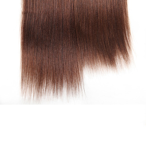 Image 5 - Rebecca mechones de pelo liso brasileño tejido, 4 mechones, 190g, negro, marrón, rojo, cabello humano en 6 colores #1 # 1B #2 #4 # 99J # Burgundy