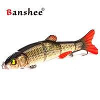 Banshee 168mm 38g Fishing Wobblers Hard Bait for Walleye 6 Colors Sinking fishing lure Swimbait