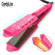 Professional Electronic Straightening Irons Electric Hair Straightener Flat Iron Fast Warm Up Styling Tools недорого