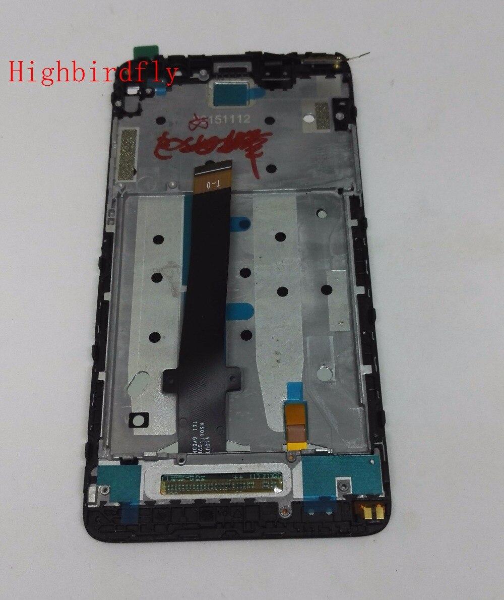 Écran lcd + Tactile En Verre Digitizer + Cadre assemblée pour xiaomi Redmi Note 3 Note3/Note 3 Pro Premier remplacement écran 150 MM