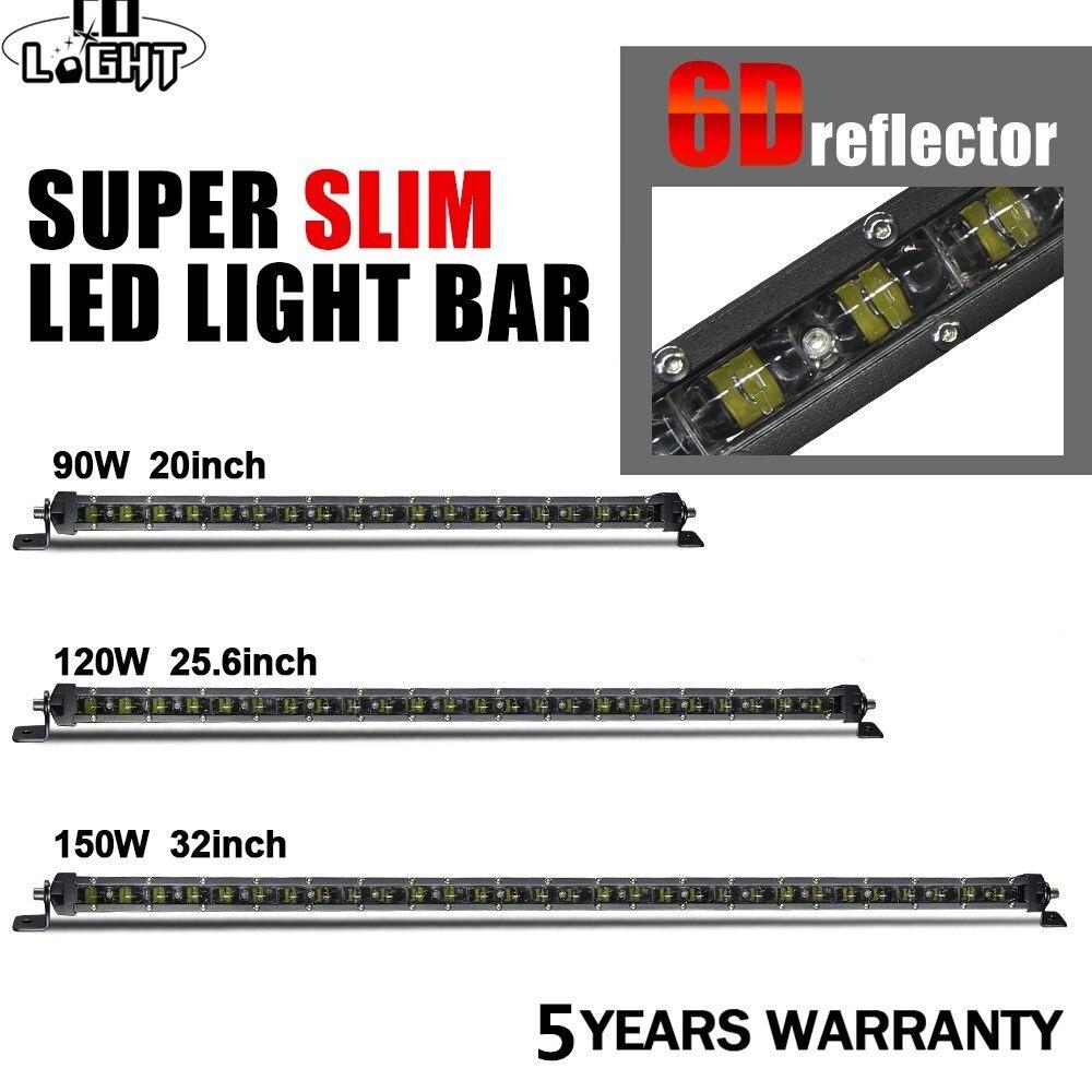 CO LIGHT 6D 32 inch 150W LED Work Light Bar 20 25.6 LED Light Bar Combo for ATV Lada Tractor 4X4 Auto Offroad Led Bar 12V 24V