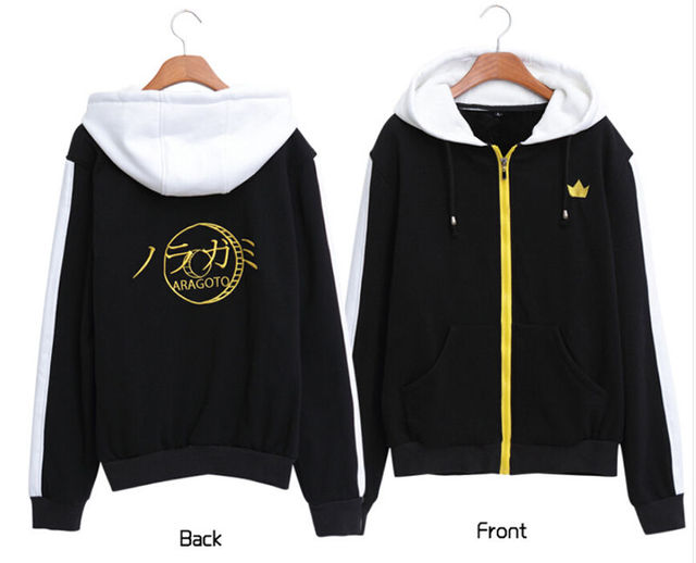 Noragami Yato Aragoto Women Men Winter Warm Cosplay Hoodie Jacket