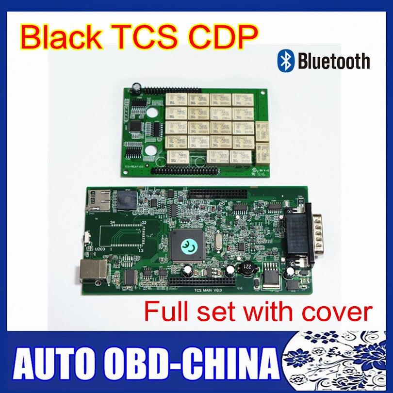 Цена за 5 шт./партия Бесплатная доставка DHL 2015 R3/2014. R3 черный новый VCI CDP ПЛЮС PRO с Bluetooth 3in1 сканер OBDII Авто Инструменты диагностики
