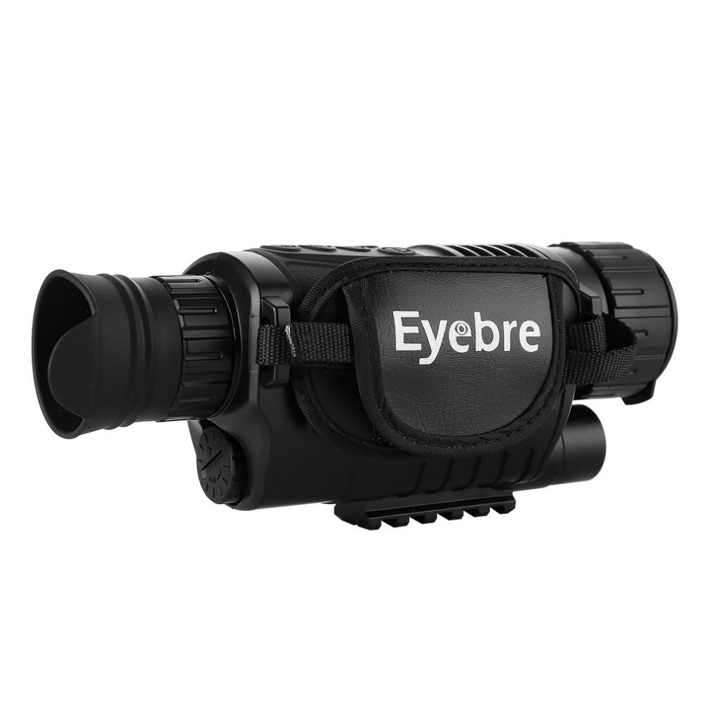 Night-Vision Monocular Tactical Infrared Night Vision Telescope Military HD Digital Monocular Telescope Night Hunting Navigation