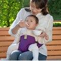 Baby Carrier Infantil Cadeira de Jantar Assento Portátil Almoço Cadeira Cinto de Segurança Do Assento De Alimentação Do Envoltório Do Estiramento Chair Harness Mochila Booster
