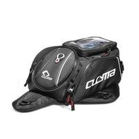 Motorcycle Black Tank Bags Multifunction Motos Luggage Universal Motorbike Oil Fuel Tank Bags Seat Tail Pack Genuine CUCYMA