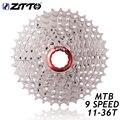 ZTTO горный велосипед 9 скоростей 11-36T Кассетная Звездочка совместима с частями M370 M430 M4000 M590 M3000 MTB велосипед Freewheel