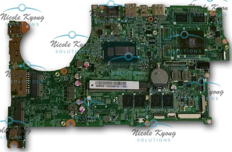 100% work NB.M9W11.003 DAZRQMB18F0 GT720M 2G I5 I7 MotherBoard SYSTEM BOARD for Acer Aspire V5 573 V5 573G V7 582PG m5 583p