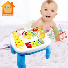 Musical Educational Baby Toys 12-24 Months Cartoon Happy Toys For Baby