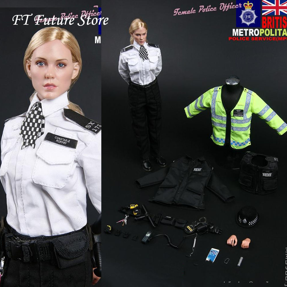 MODELING MMS9005 Metropolitan 1//6 Female Police Officer Action Figure