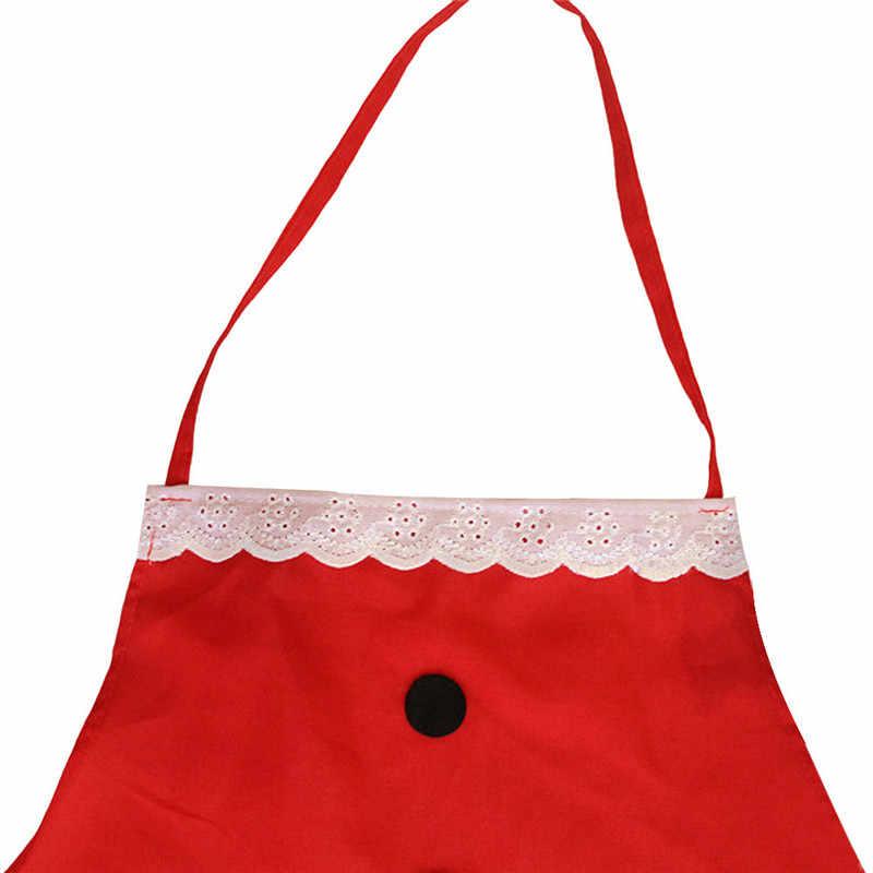 الإبداعية عيد الميلاد زينة السيدات الرجال مثير مآزر الكبار عشاء حزب مريلة مطبخ اكسسوارات المطبخ السنة الجديدة لوازم